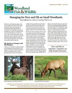 WoodlandFishAndWildlifeImageManagingForDeerAndElkOnSmallWoodlands2015